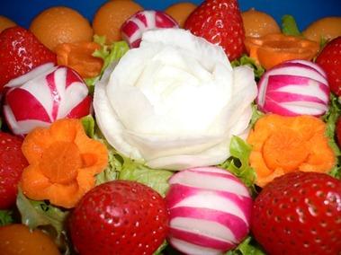 Fruit Carving Cestino 3