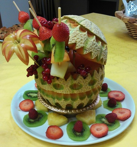 Fruit Carving Cestino di Tiziano 1