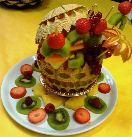 Fruit Carving Cestino di Tiziano 2