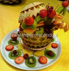 Fruit Carving Cestino di Tiziano 2