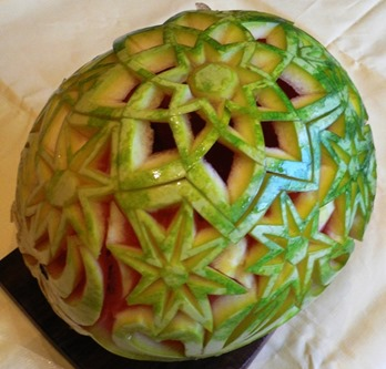 Fruit Carving Cesto Anguria 5