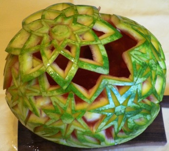 Fruit Carving Cesto Anguria 8