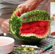 Fruit Carving Cesto Anguria
