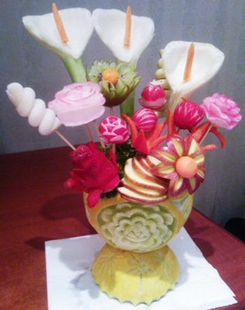 Fruit Carving, Corso MilanoR1