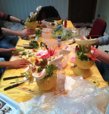 Fruit Carving, Corso MilanoR