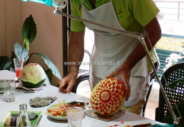 Fruit Carving Durante Corso2