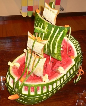 Fruit Carving GALEONE-VASCELLOr