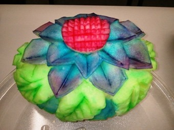 Fruit Carving Melone Colorato4.