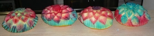 Fruit Carving Meloni colorati