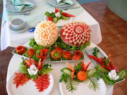Fruit Carving Parte immagini corso