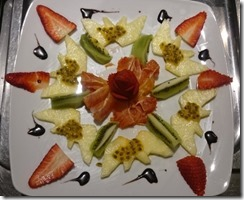 Fruit Carving Piatto Frutta