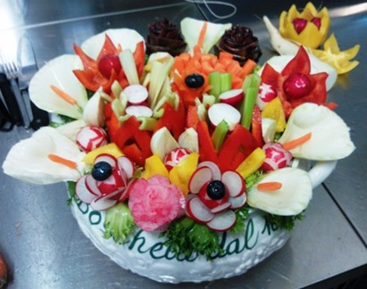 Fruit Carving, Pinzimonio