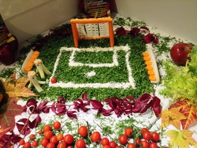 Fruit Carving Porta Campo Calcio