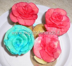 Fruit Carving ROSE colorate