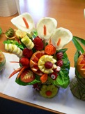 Fruit Carving Vaso Primavera