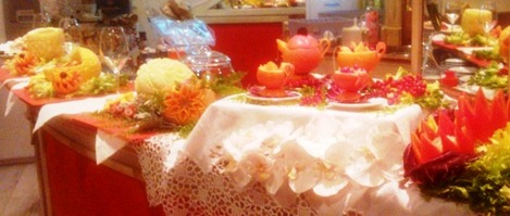 Fruit Carving caffetteria  Buffet
