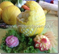 Fruit Carving cesto a conchiglia2r