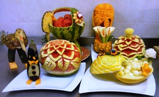 Fruit Carving corso in villa (3)