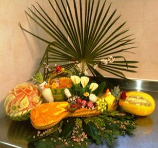 Fruit Carving corso villa