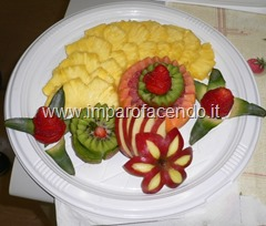 Fruit Carving piatto Ananas