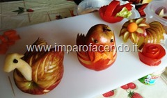 Fruit Carving simpatiche decorazioni