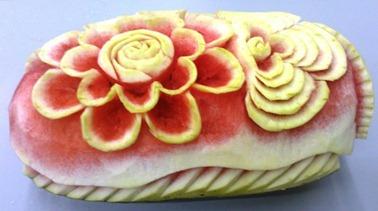 Fruit Carving2 Durante Corso Settembre 2012