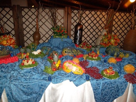 Fruit carving Carmela3