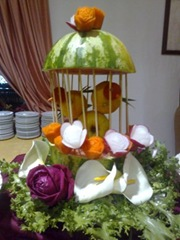 Fruit Carving Carmela 1