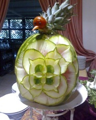 Fruit Carving Carmela 2