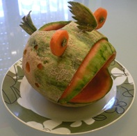Fruit Carving Pesce1