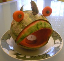 Fruit Carving Pesce2