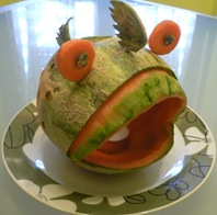 Fruit Carving Pesce3