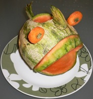 Fruit Carving Pesce8