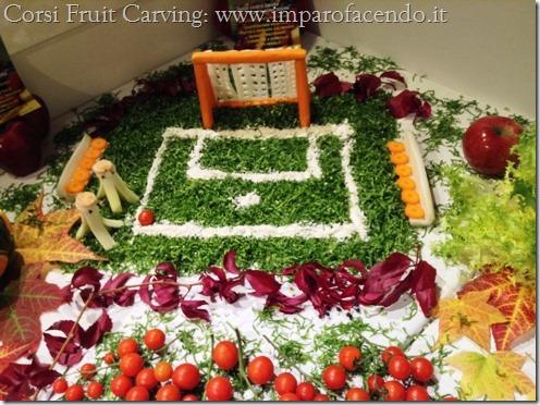 Fruit Carving Porta Campo Calcio