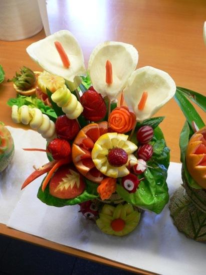 Fruit Carving Vaso Primavera