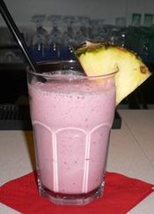 Frullato o centrifugato solo Frutta con Frutti di bosco