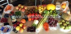 Frutta e Verdura invernale durante corso Sorsi di Frutta