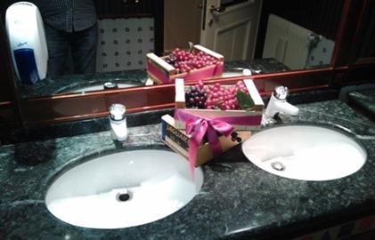 Frutta in bagno