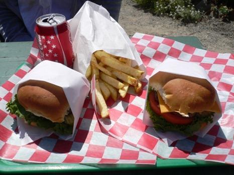 Hamburger originale California.