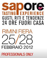 Logo Sapore fiera Rimini