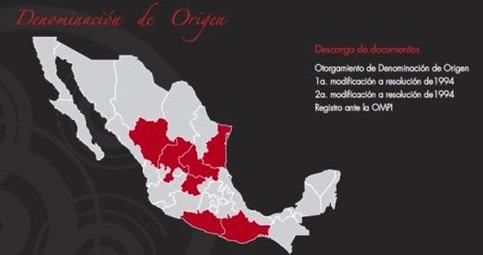 Mezcal Stati Produzione denominazione origine