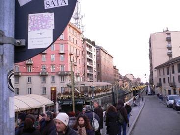 Milano, naviglio Pavese