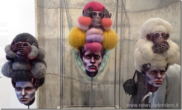 Parrucche con scimmiette