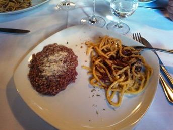 Piatto Riso e spaghetti all'Amarone