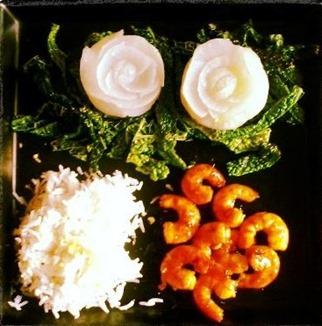Piatto verdure a vapore di Michela