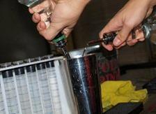 Pouring Metal Pour