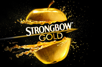 Sidro Strongbow-gold
