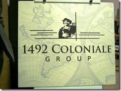 Siti FaceBook 1492 Coloniale Group