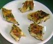 Stuzzichini frittata di zucchine