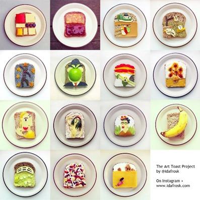 Toast e Arte